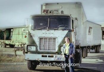 1967 Mack Cabover Big Rig