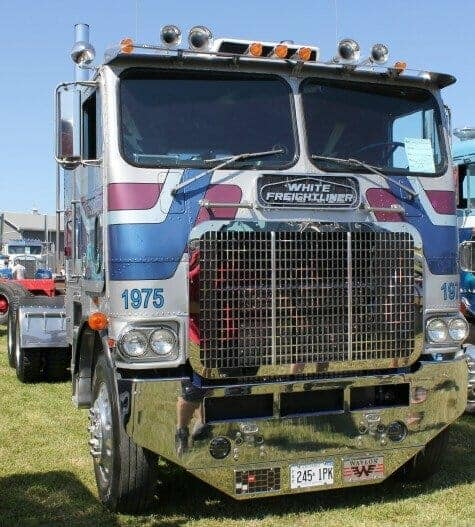 1975 White Freightliner/PowerLiner Cabover