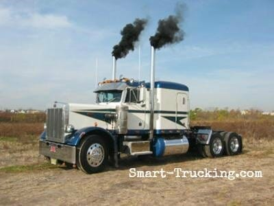 1987 Classic Peterbilt 359 Numbered Truck #345