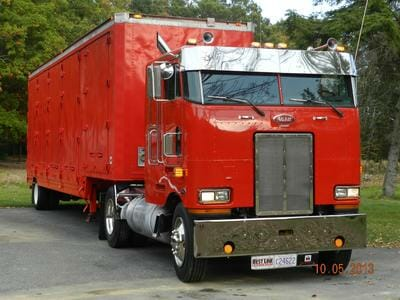 1990 Peterbilt 362 Cabover