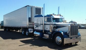 1987 359 Peterbilt Numbered Truck