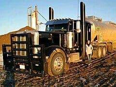 Australian Road Train Black Rig