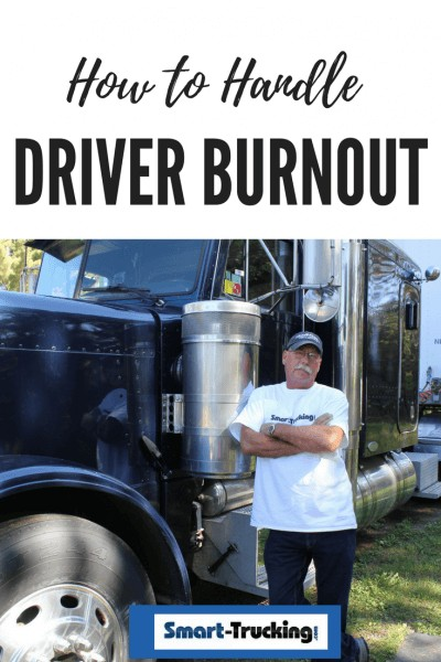 How to Handle Truck Driver Burnout
