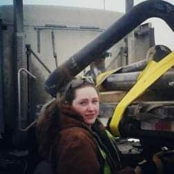 Alberta Lady Truck Driver
