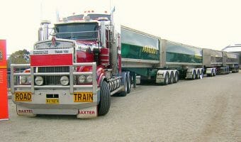 Australian Road Train and Rig Kenworth