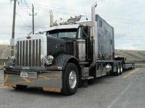 Big Bunk Sleeper Peterbilt