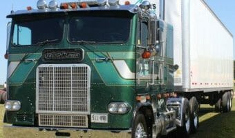 Collection Of Old Semi Trucks: Memories Of The Glory Days Of Trucking