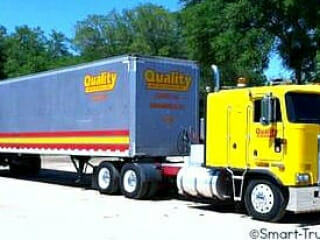 1994 Yellow Kenworth Cabover Detroit Power 10 Speed