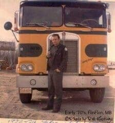 Early 70's Cabover Kenworth Yellow Green