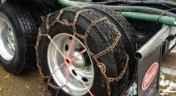 Chains for traction for semi truck