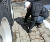 big rig tire chaining