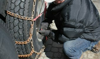 Tire Chains Big Rig