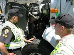 DOT Inspection for Tractor Trailer