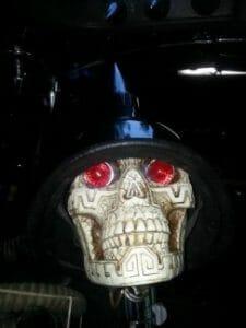 Skulls Kenworth Truck Interior