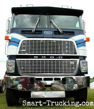 Ford Cabover Big Rig Truck
