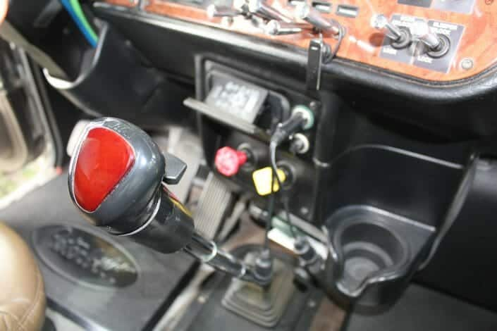 Gear Shifter in Tractor Trailer