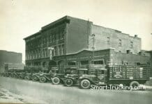 Old truck photos Litten Cartage