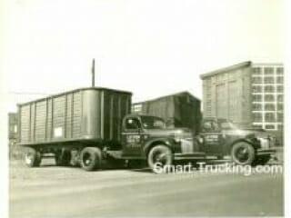 Old Semi Trucks: Litten Cartage