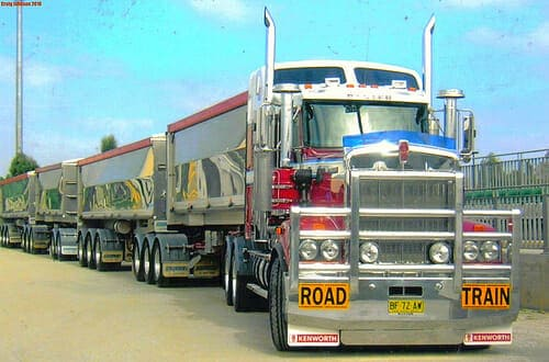 Big Rigs in the Outback