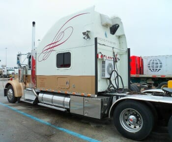 kenworth custom big bunk truck