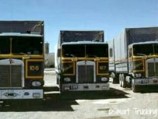 3 Classic Old Kenworth Cabovers