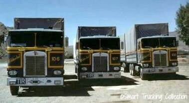 Classic Old Kenworth Cabovers