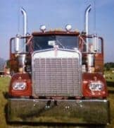 Old Kenworth Semi Truck Old School