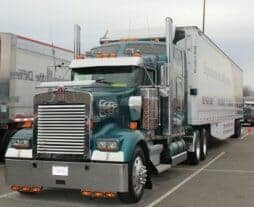 Kenworth Show Truck Teal W900