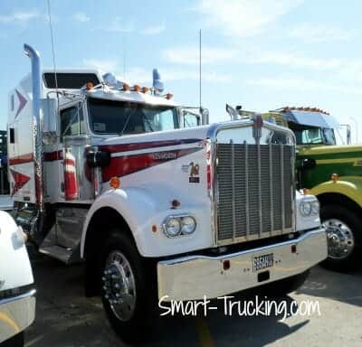 Older Kenworth W900A Classic Big Rig