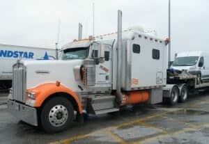 Kenworth W900B Big Sleeper Berth Rig