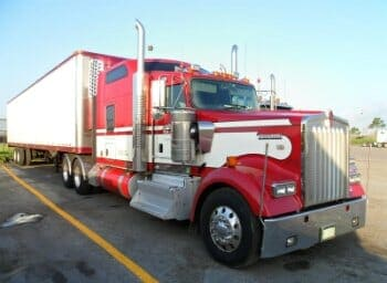 Kenworth W900B With Custom Big Bunk