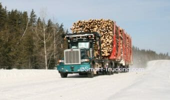 The Canadian Off-Road Logging Trucks Photo Collection You Need to See!