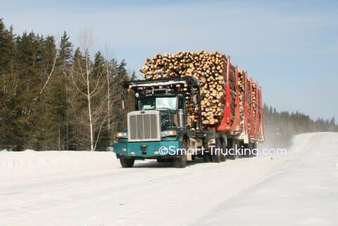 Peterbilt 357 truck