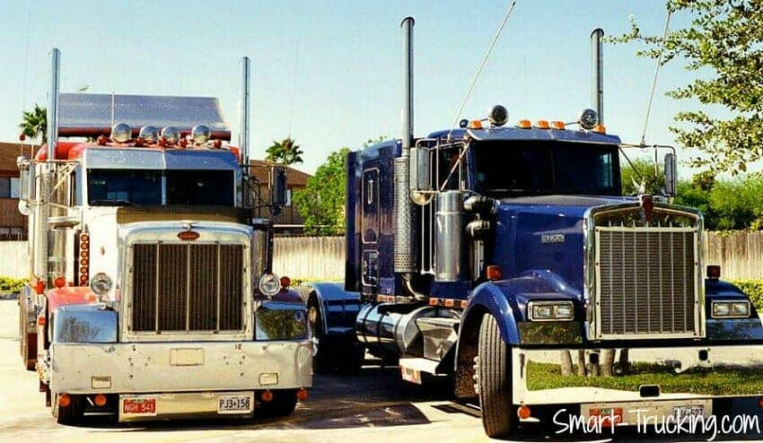 custom 1987 peterbilt 377 with big cat power