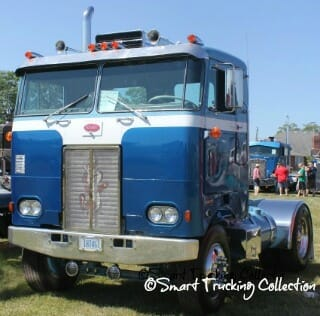 Peterbilt Cabover Blue