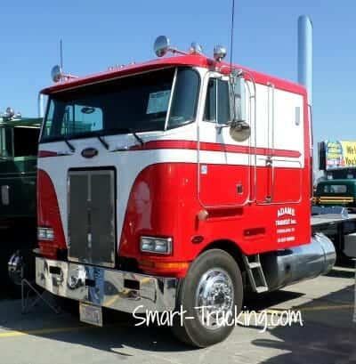 Peterbilt Cabover Truck Photo Gallery