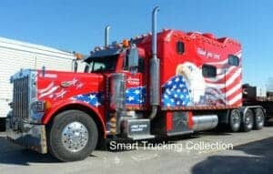 Big All American Big Bunk Peterbilt