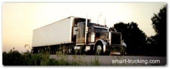 Peterbilt long haul truck