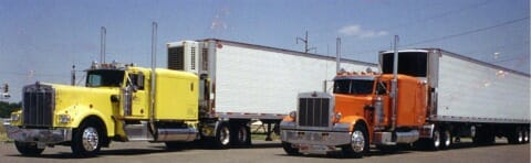 long hood peterbilt needlenose old kenworth