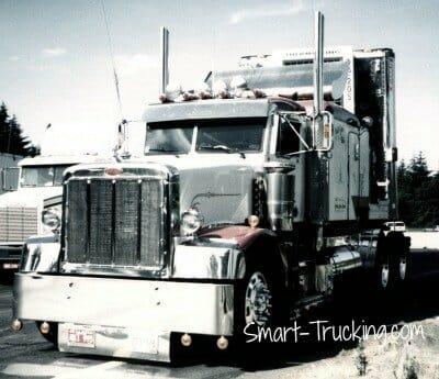 1987 Custom 377 Peterbilt Truck