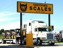 Cat Scales for Big Rigs
