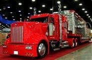 Big Rig Kenworth W900 Show Truck Red