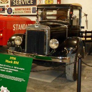 1936 Black Mack Vintage Model