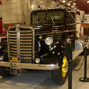 Black 1938 Kenworth