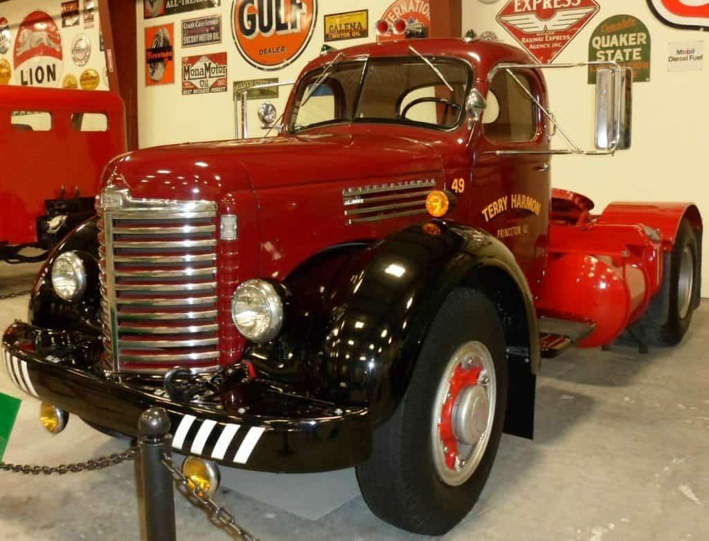 Red 1948 Intenational Harvester KB