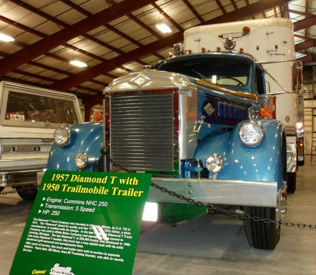 1957 Diamond T with Trailmobile Trailer