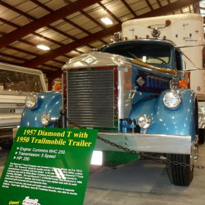 1957 Diamond T with Trailmobile Trailer