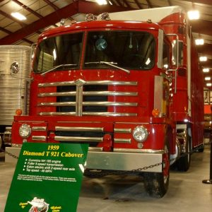 1959 Diamond T921 Cabover Red