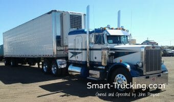 1987 Peterbilt 359 Numbered Truck