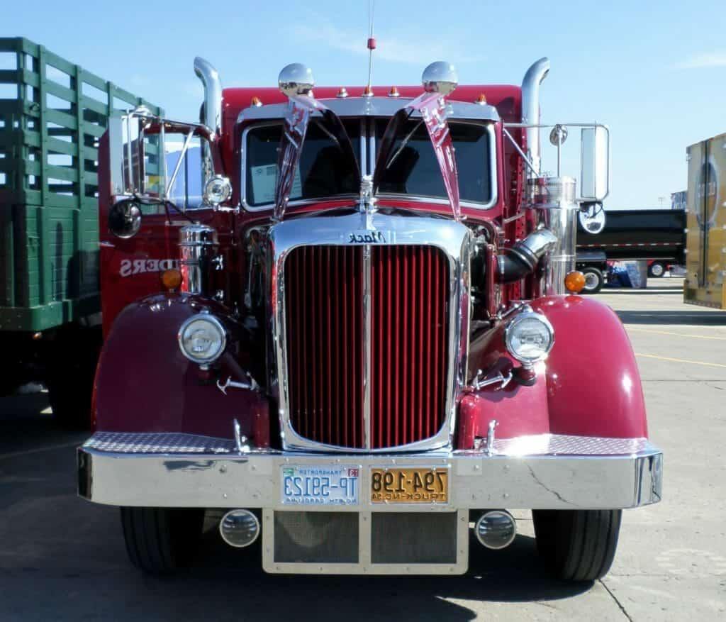 Red 1954 Mack Vintage
